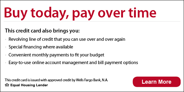 Financing With Wells Fargo